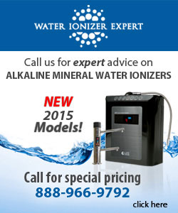 Water Ionizer Experts banner